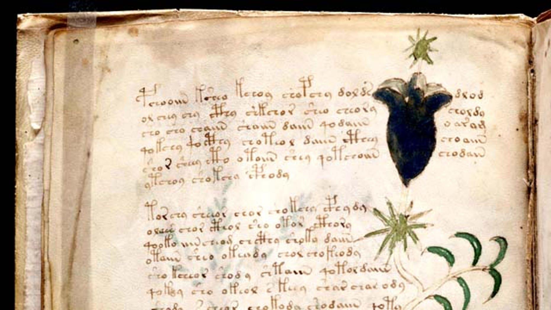 Secret Of Voynich Manuscript An Ancient Book Written In Alien