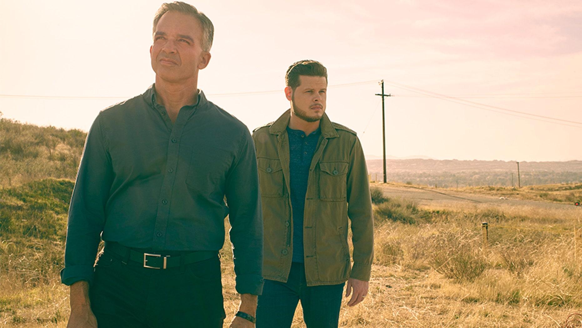 """Derrick Levasseur (right) and Kris Mohandie (left) from """"Breaking Homicide."""""""