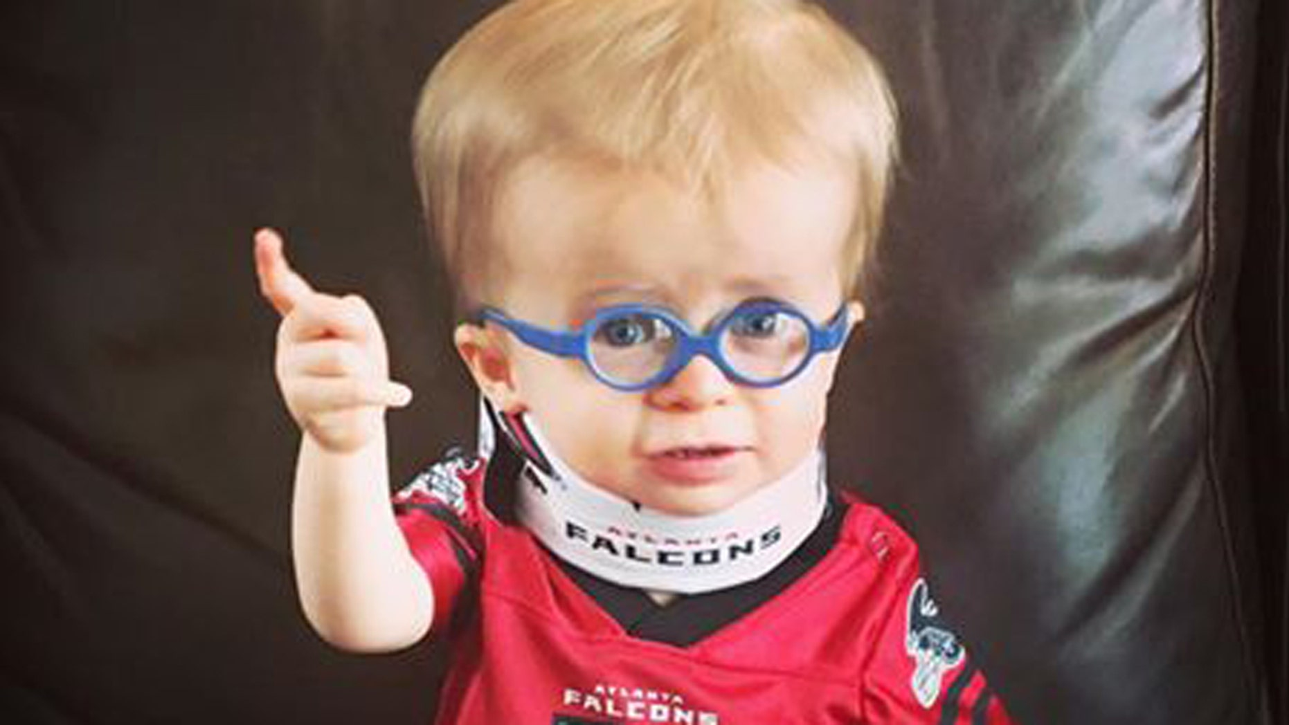 """Wyatt wants you to """"Rise Up"""" for his favorite team this Sunday."""
