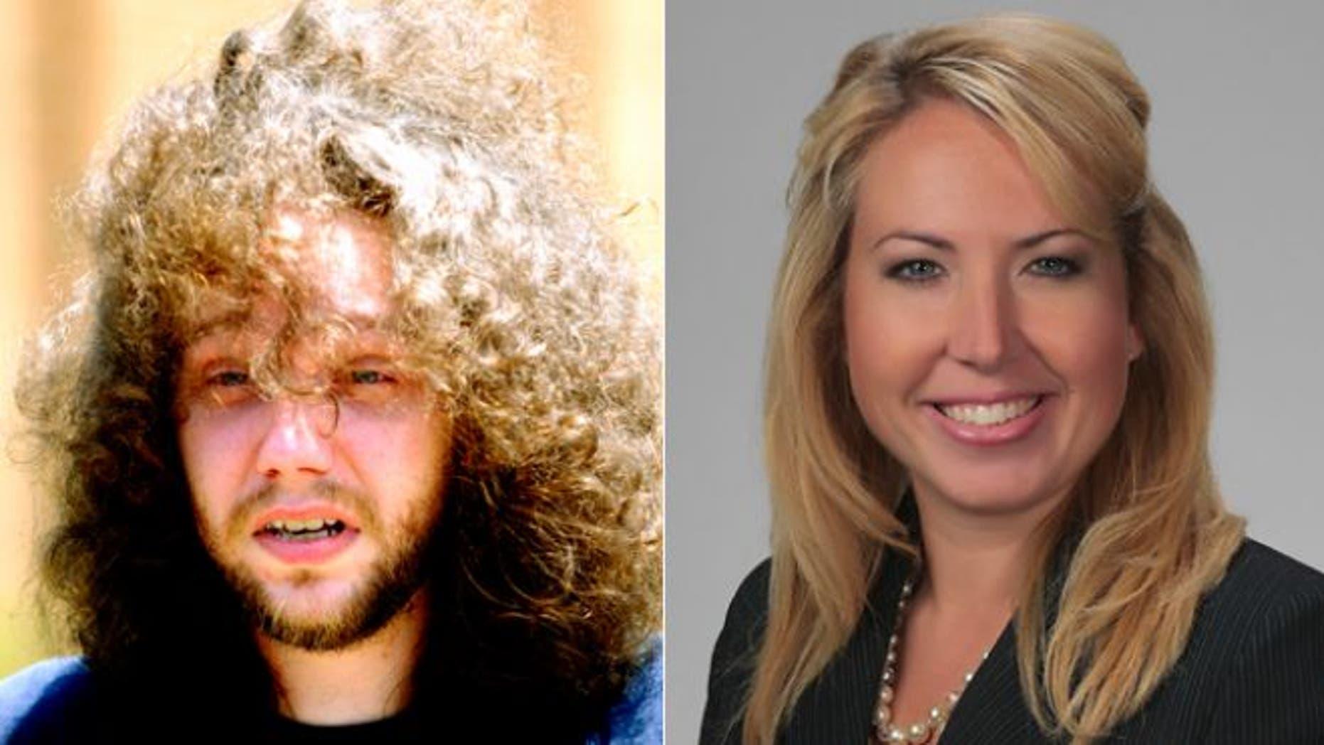 Stephen Mark McDaniel, left, pleaded not guilty in the murder of Lauren Giddings