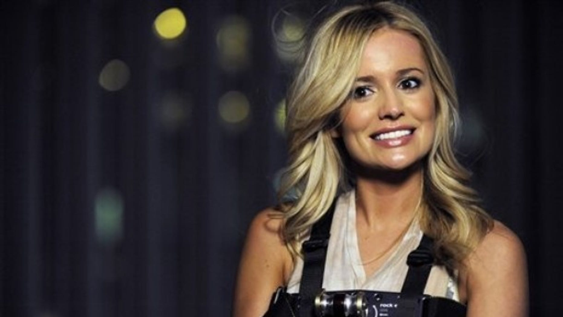 """In this March 2012 photo released by ABC shows Emily Maynard, a former contestant on """"The Bachelor"""" and now the star of the latest season of """"The Bachelorette,""""  in Charlotte, N.C."""