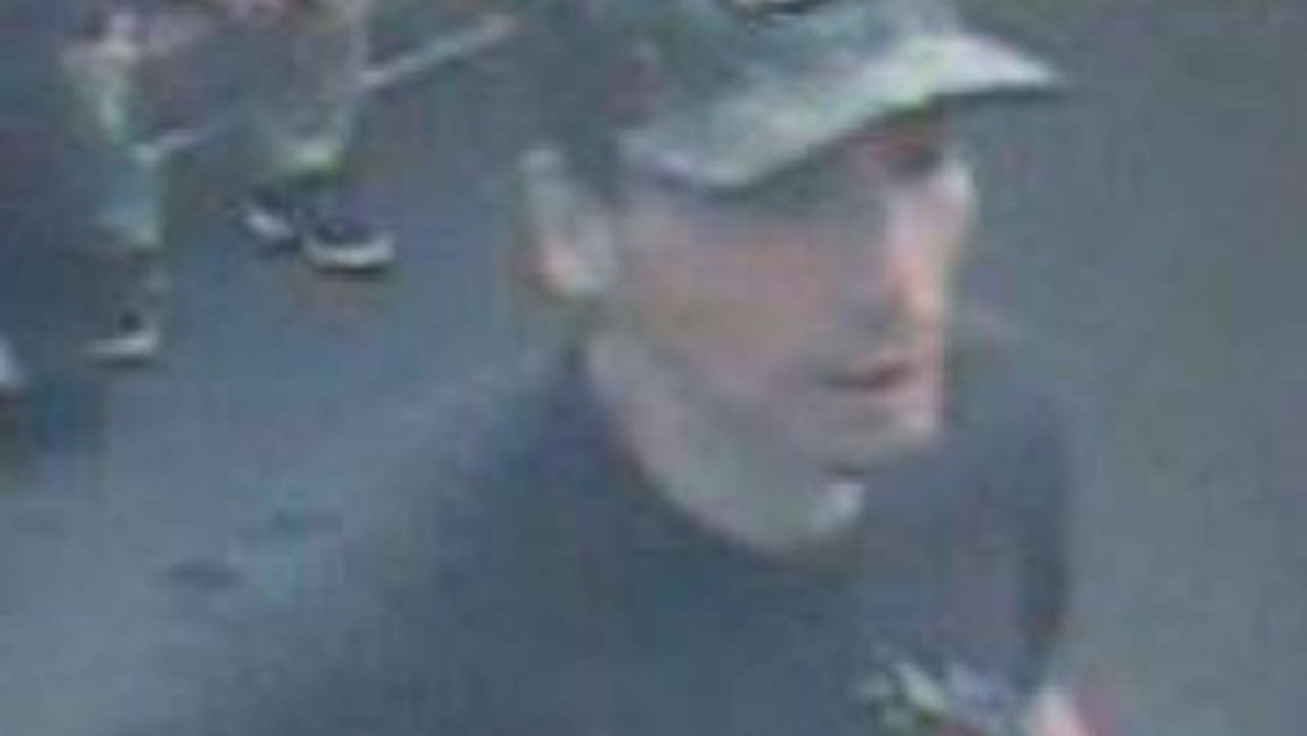 The man in this photo used another man's ID to pay for an expensive medical procedure, say police in Daly City, Calif.