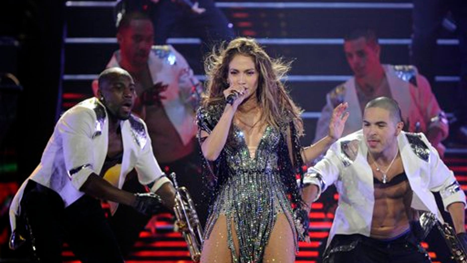 Oct. 22, 2011: Jennifer Lopez performs at Mohegan Sun during its 15th anniversary celebration in Uncasville, Conn.