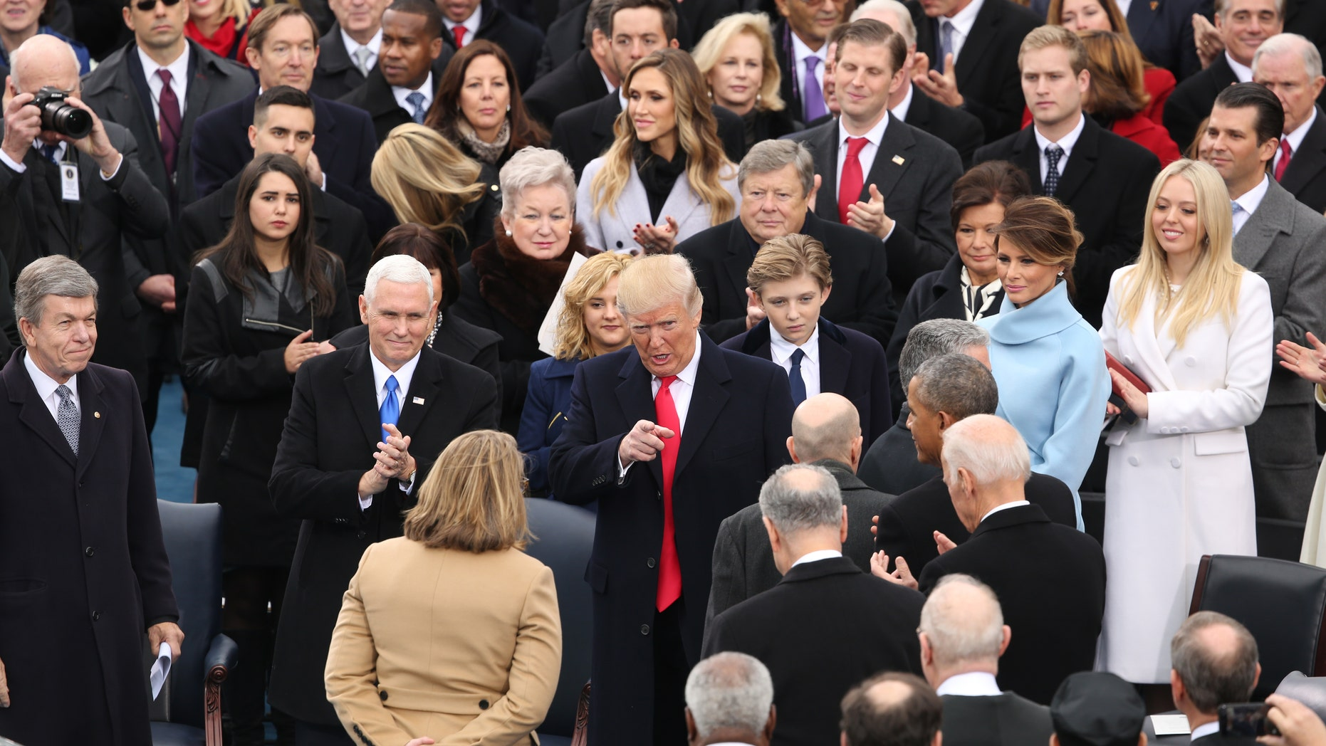 58th Presidential Inauguration at the U.S. Capitol for President-elect Donald Trump in Washington, Friday, Jan. 20, 2017.