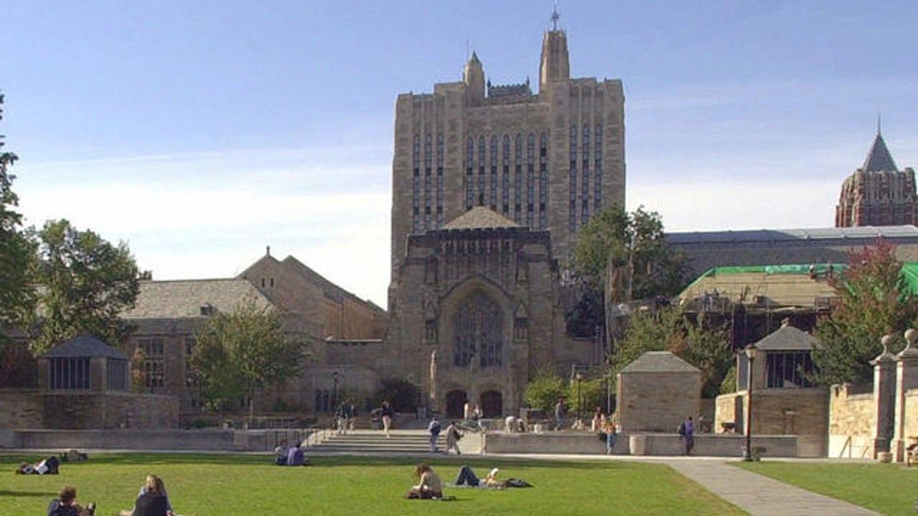 Yale University, in Connecticut.