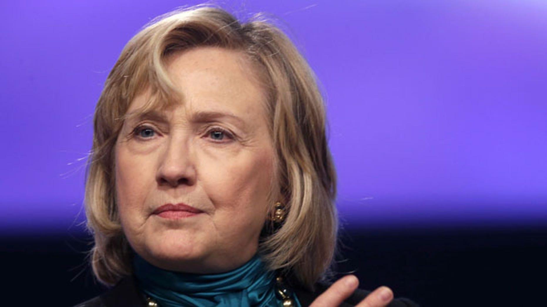 Jan. 27, 2014: Hillary Clinton speaks in New Orleans, Louisiana.