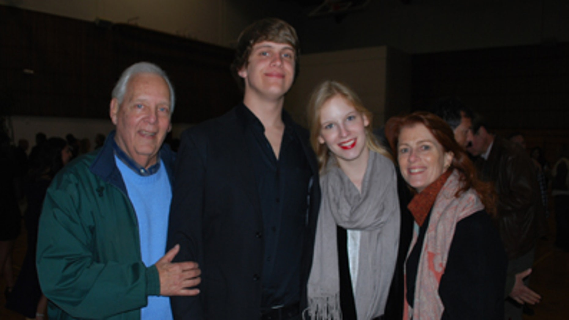The Fraser Family: Woody, Mac, Madeline and Noreen