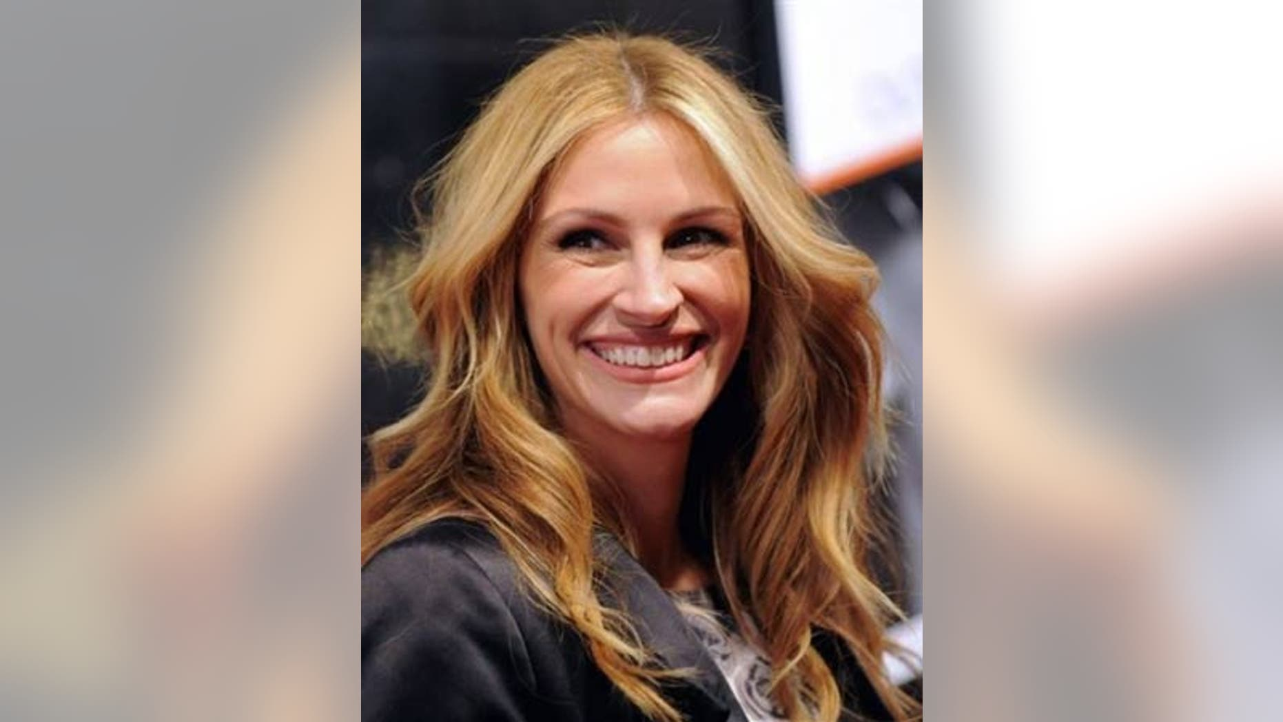 March 16: Julia Roberts attends the premiere for 'Duplicity' at the Ziegfeld Theater in New York.