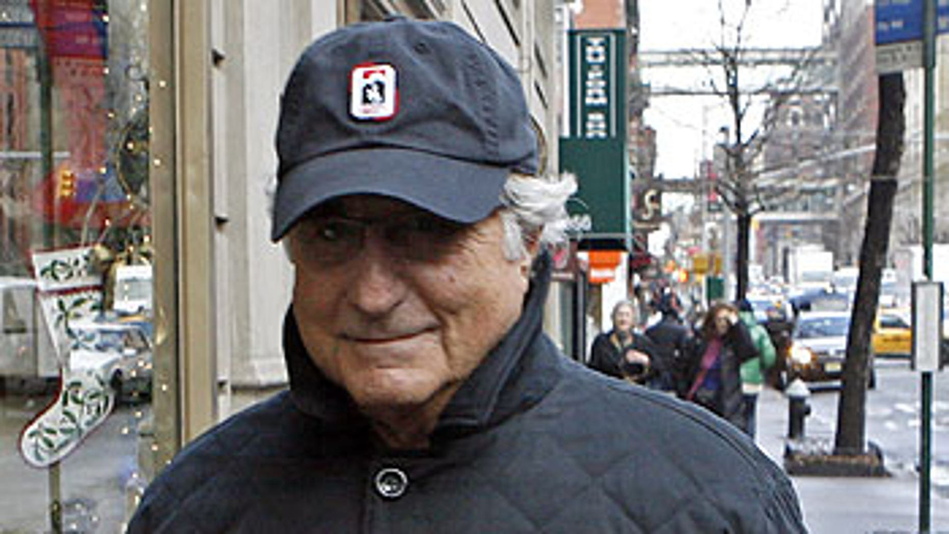 Dec. 17, 2008: Bernard Madoff, chairman of Madoff Investment Securities, returns to his Manhattan apartment after making a court appearance.