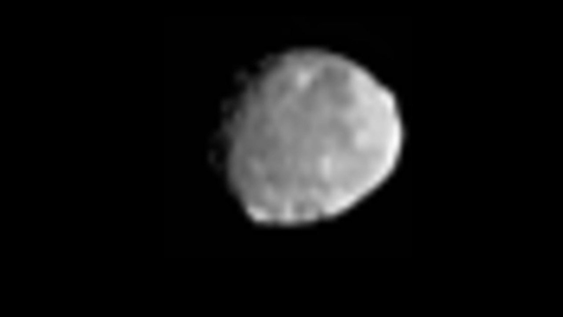 NASA's Dawn spacecraft obtained this image on its approach to the protoplanet Vesta, the second-most massive object in the main asteroid belt. The image was obtained on June 20, 2011.