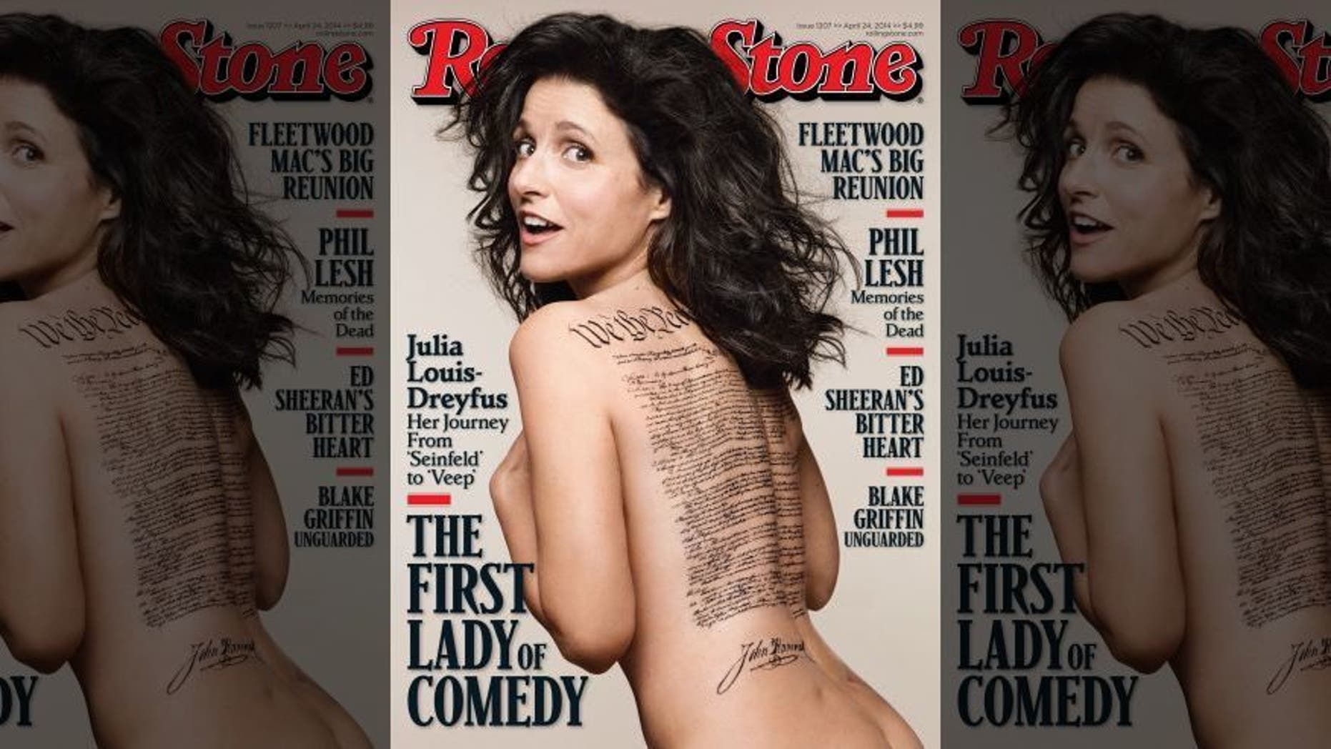 Julia Louis Dreyfus Ever Been Nude julia louis-dreyfus' rolling stone cover features