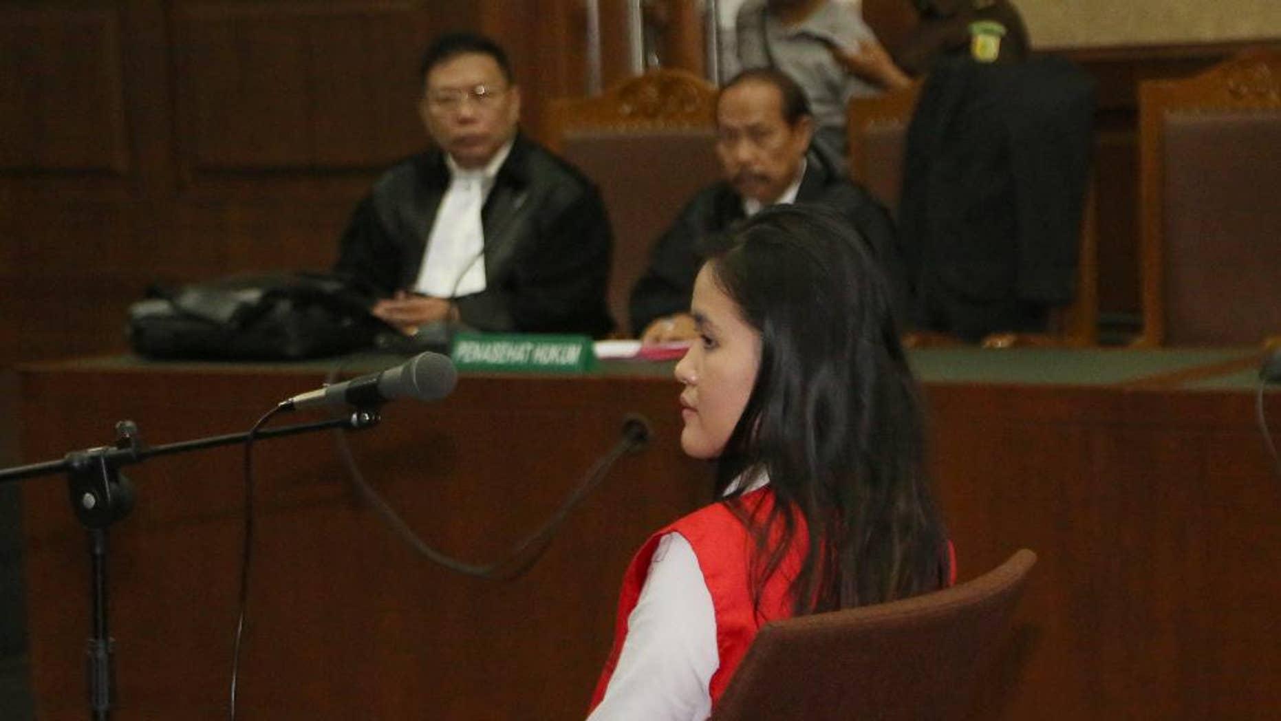Jessica Kumala Wongso in court.