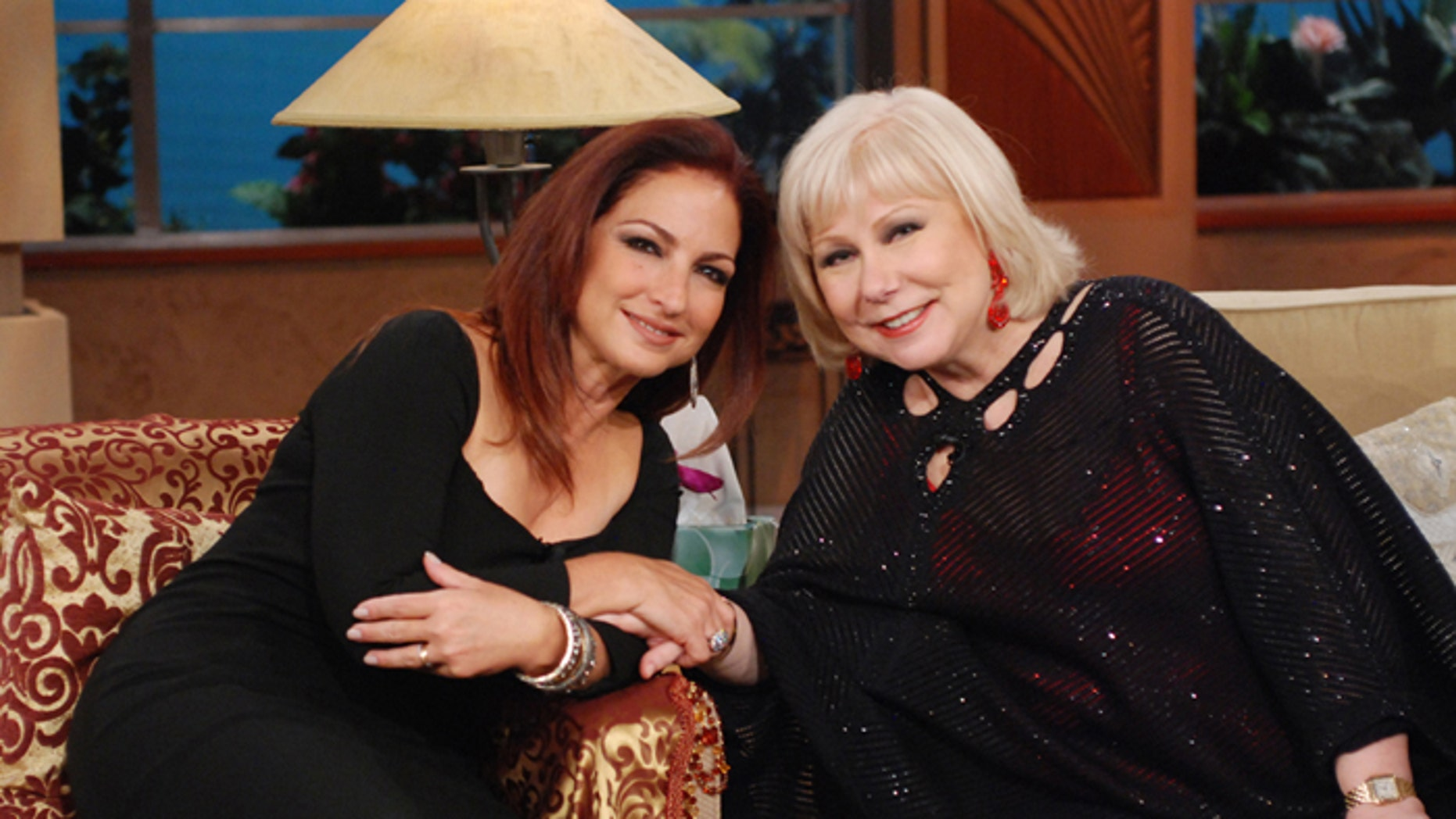 Gloria Estefan y Cristina Saralegui