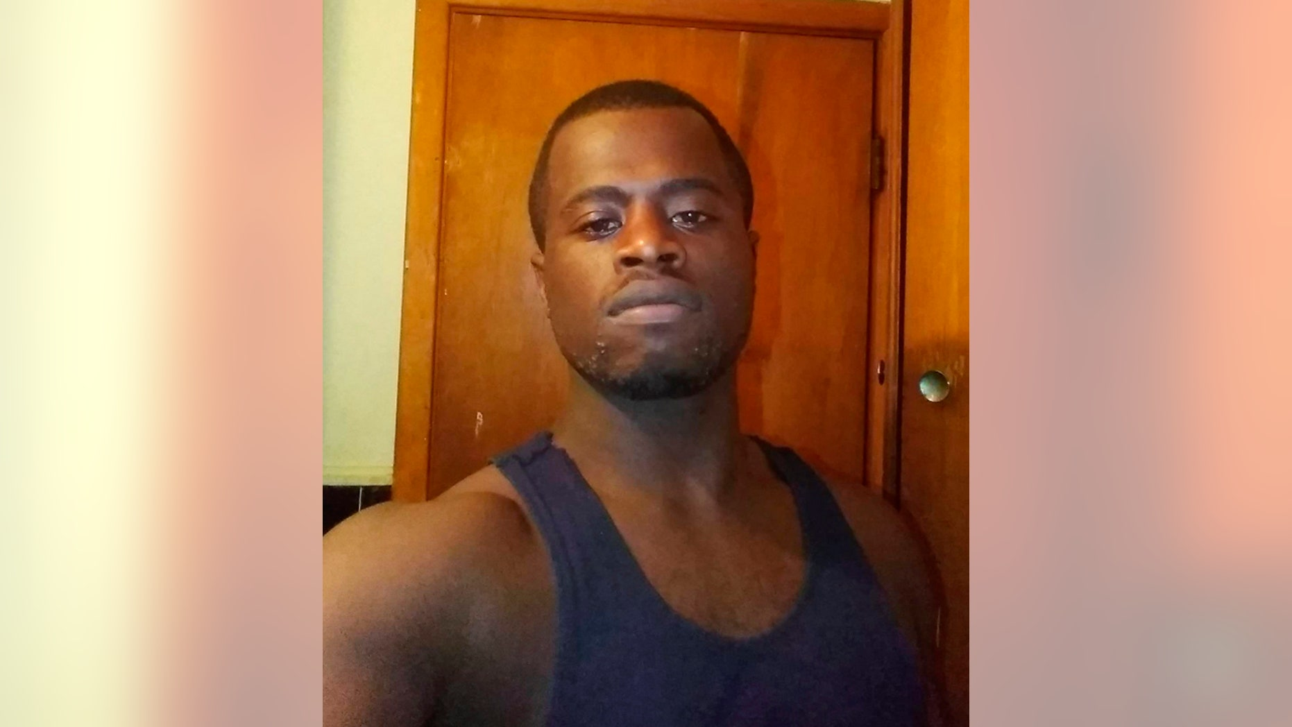 This image provided by Shreveport Police Department shows Tommy Lee Beverly Jr. Louisiana police are searching for Beverly, who is accused of taking selfies on a phone stolen at gunpoint that got uploaded to the owner's cloud account.