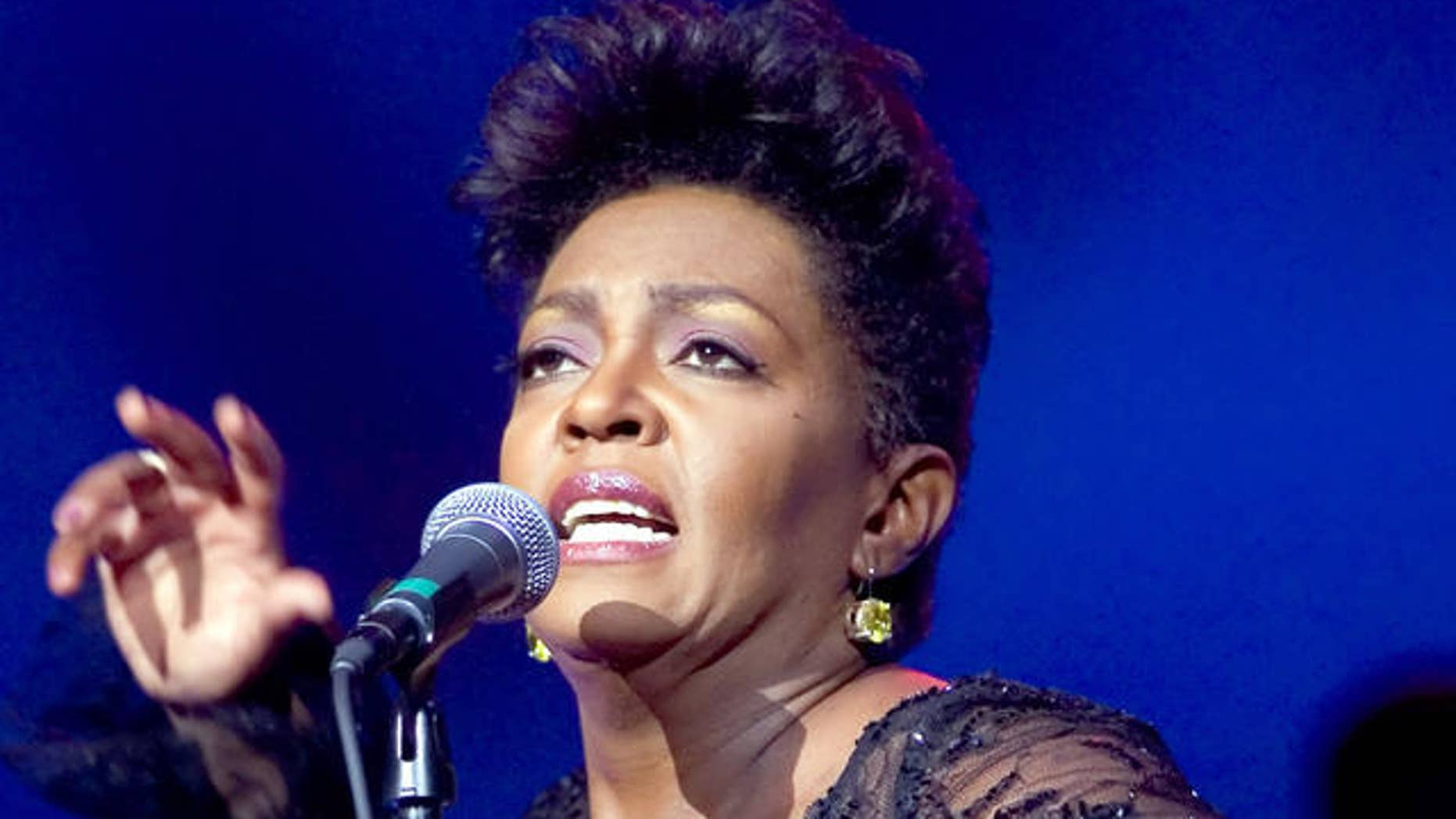 Anita Baker performs during a concert Thursday, July 26, 2007 at Radio City Music Hall in New York.