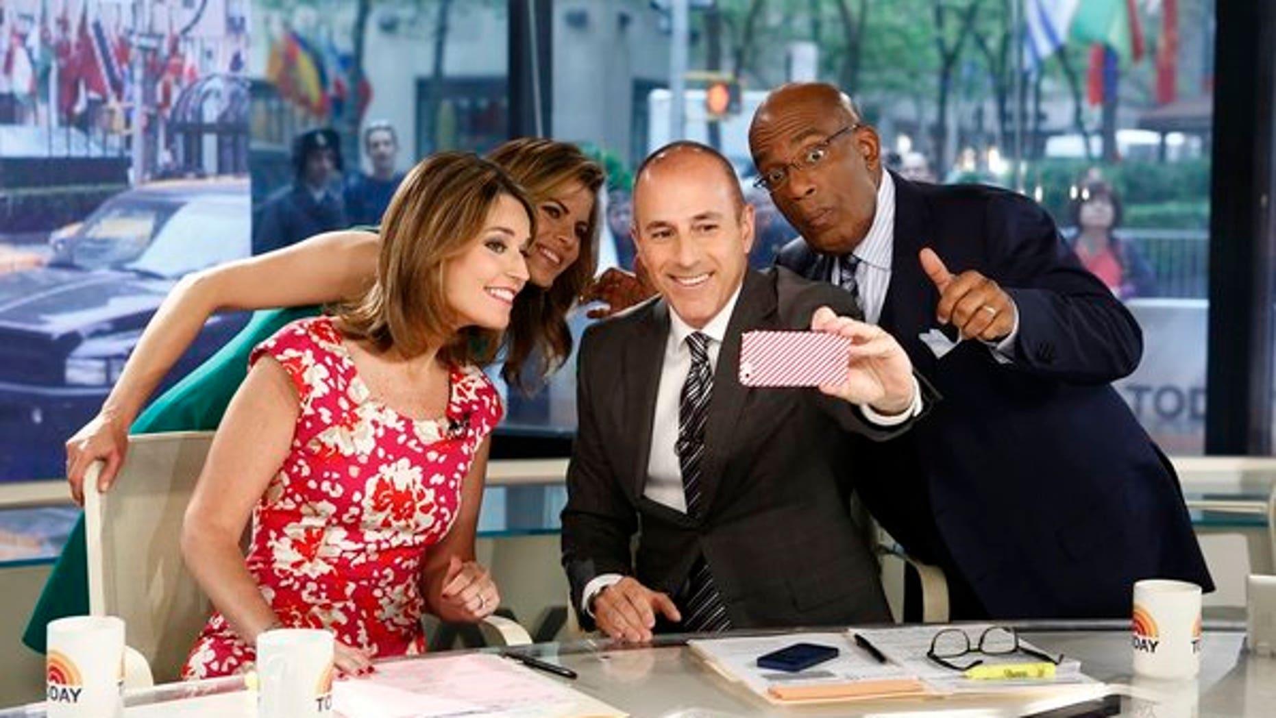 "Savannah Guthrie, Natalie Morales, Matt Lauer and Al Roker appear on NBC News' ""Today"" show"