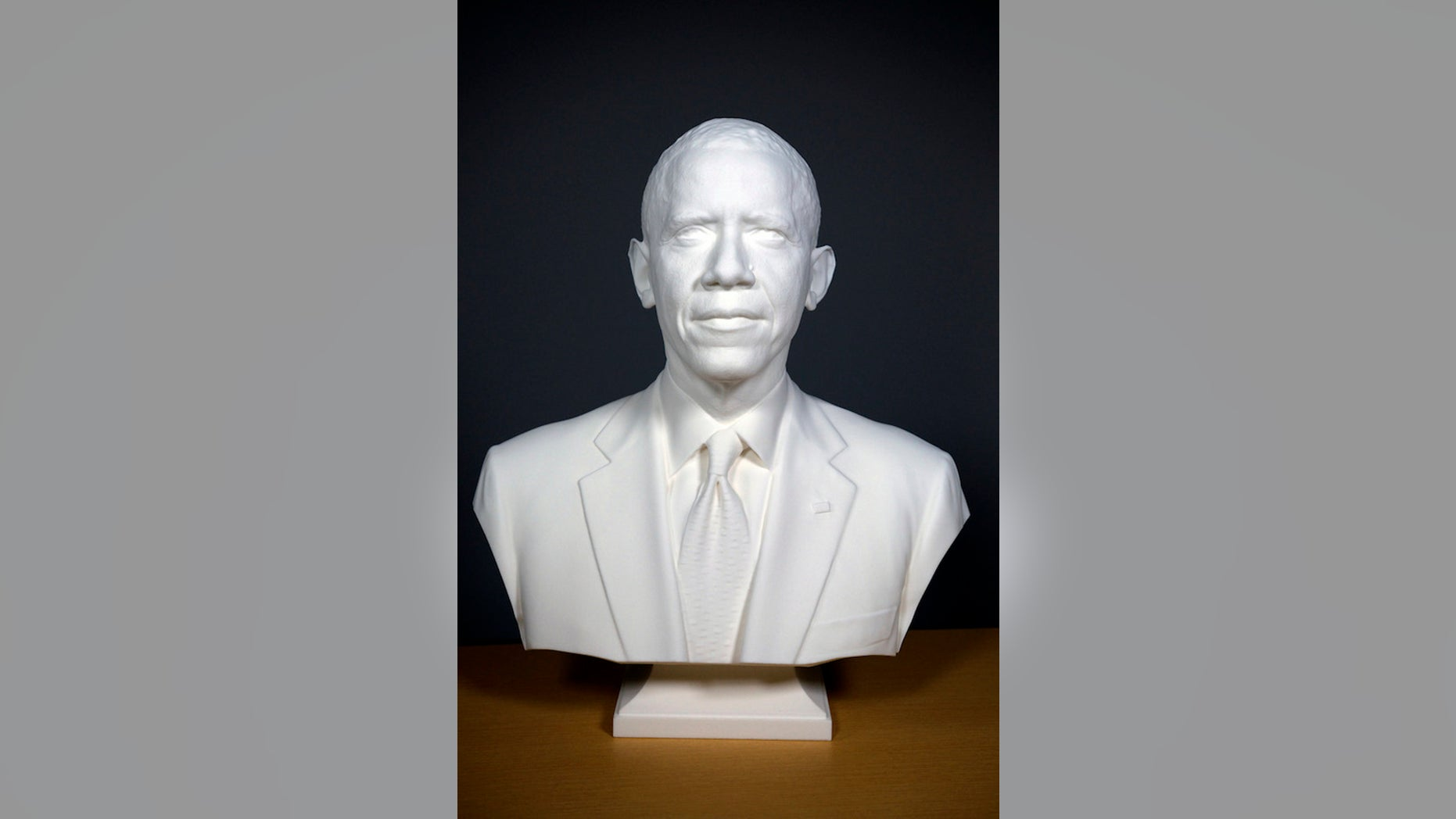 Barack Obama will have an unusual addition to the National Portrait Gallery.