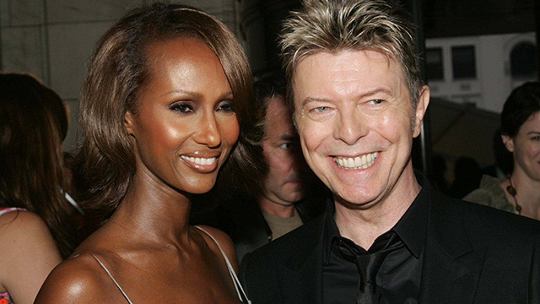 Model Iman says she refuses to marry after the death of her husband David Bowie.