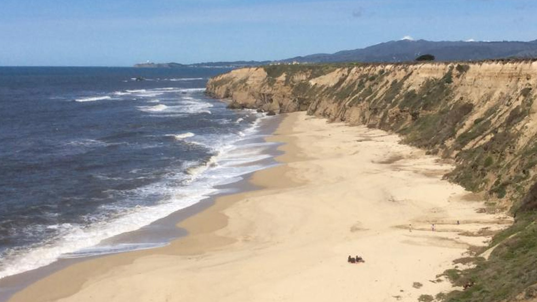 A 47-year-old woman on Sunday drowned while trying to save three children swept away off a beach in California.