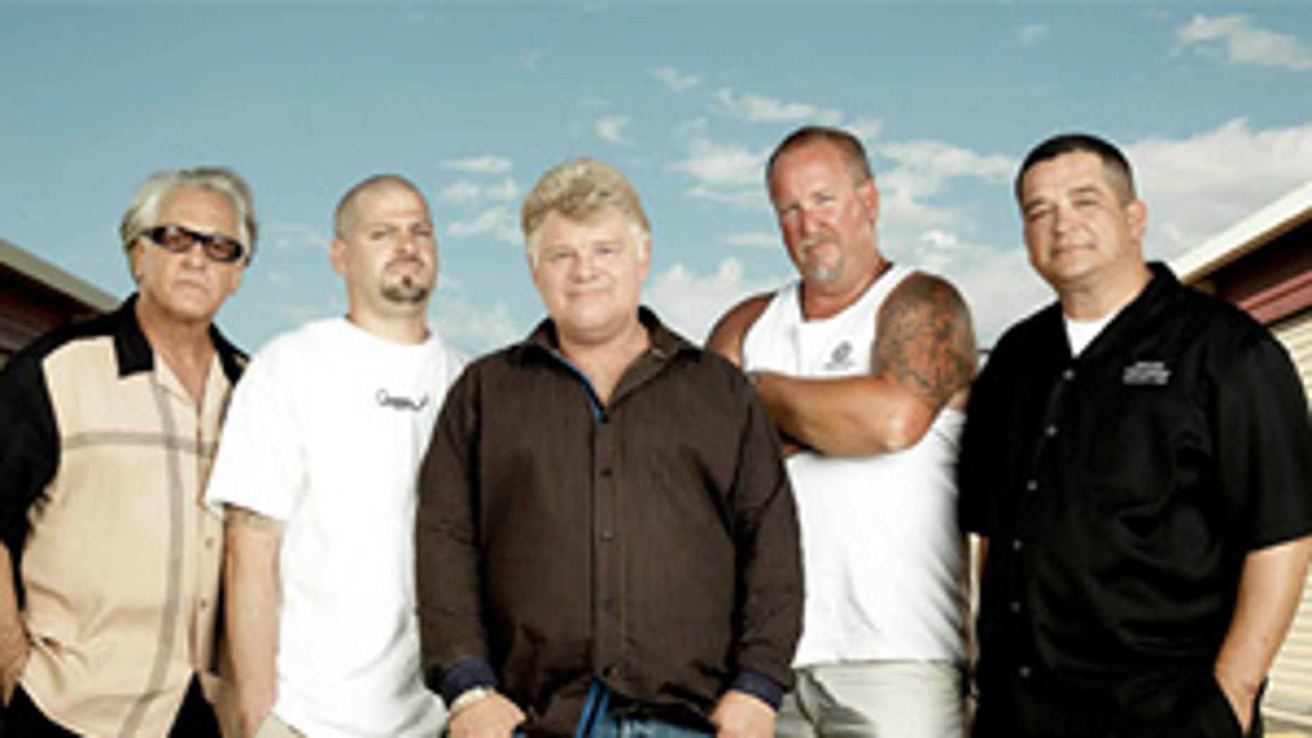 The cast of 'Storage Wars.' (A&E)