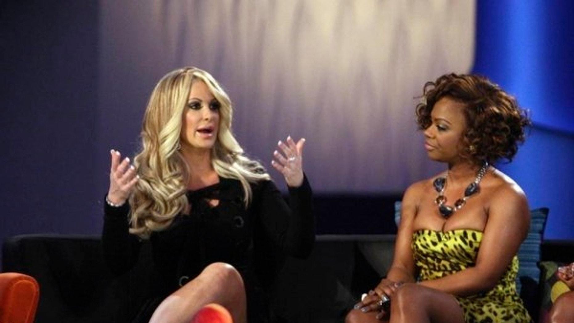 'Real Housewives of Atlanta' stars Kim Zolciak and Kandi Burruss.