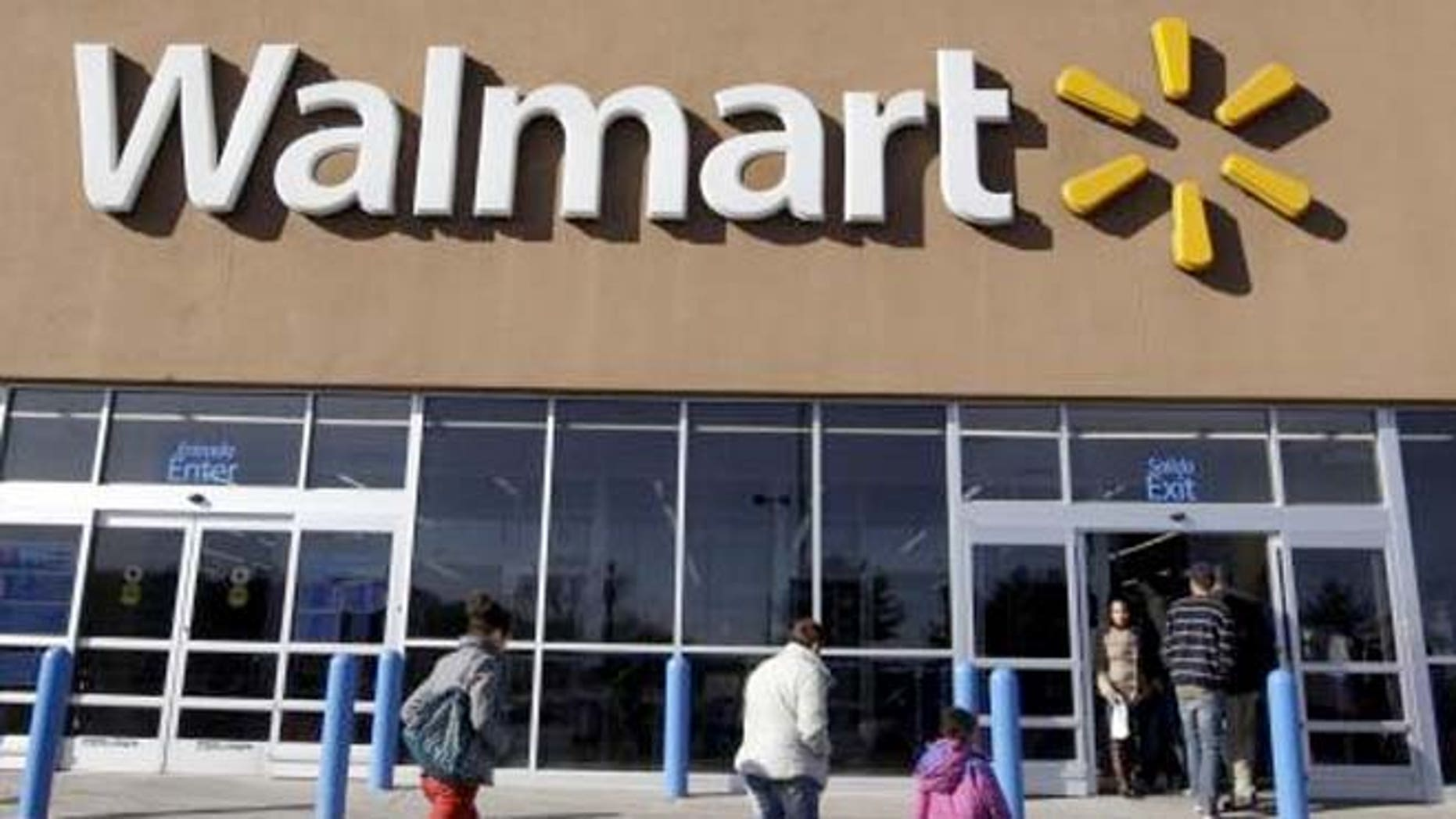 Walmart refuses to sell alcohol to 57-year-old man because his teen daughter he was shopping with had no ID.