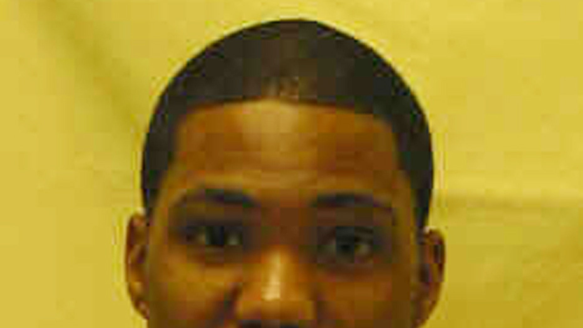 This photo provided by the Ohio Department of Rehabilitation and Corrections shows Lindsey Bruce.  Bruce is one of the three Ohio inmates, including a convicted killer of three students, that were able to escape from prison during recreation Thursday,  Sept. 11, 2014, in Lima, Ohio. A prison guard chased and caught Bruce first. (AP Photo/Ohio Department of Rehabilitation and Corrections)