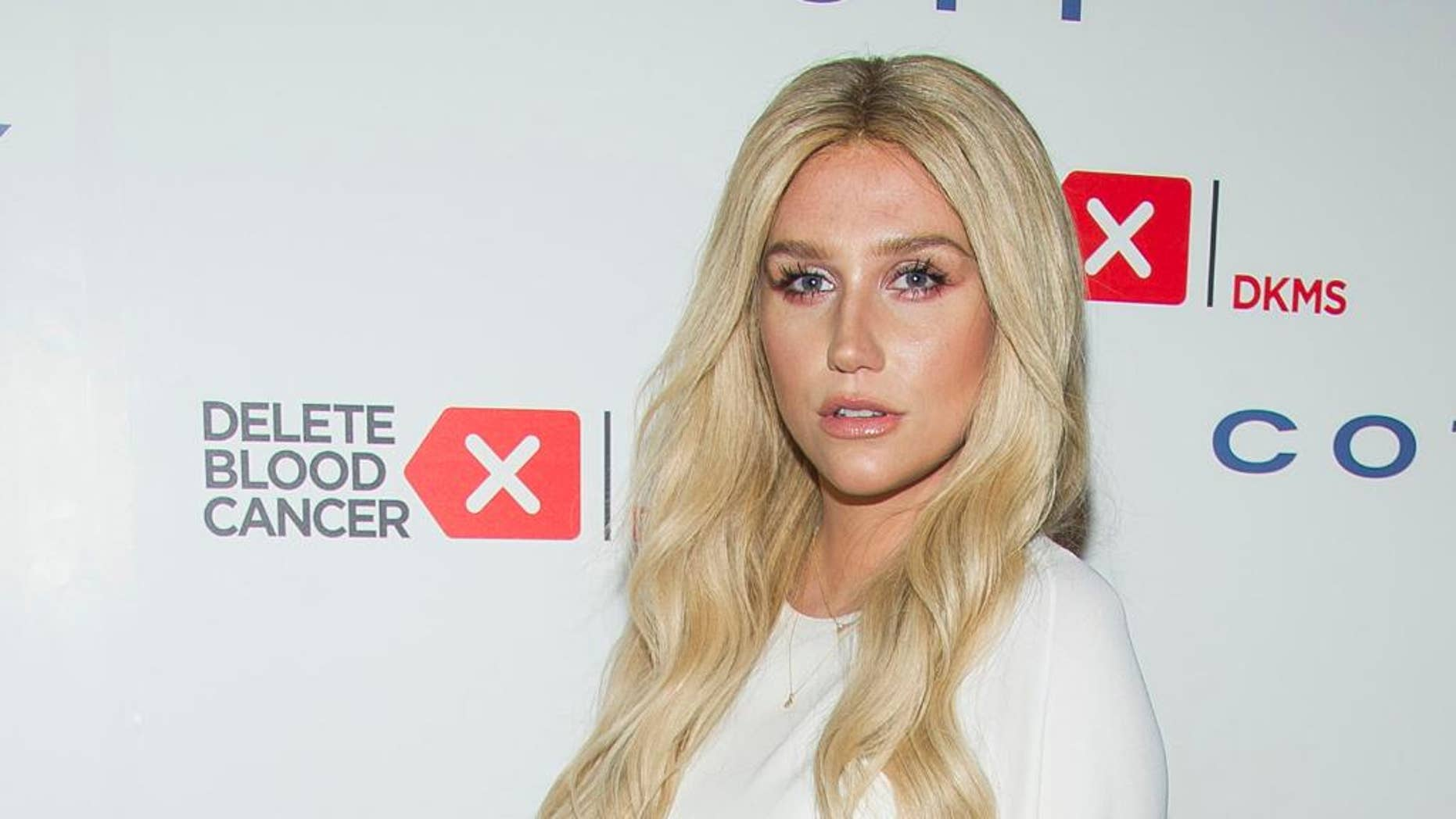 FILE- In this April 16, 2015 file photo, Kesha attends the 2015 Delete Blood Cancer Gala in New York. Kesha, who was readying a live performance at Sunday's Billboard Music Awards, is no longer performing at the show. (Photo by Charles Sykes/Invision/AP, File)