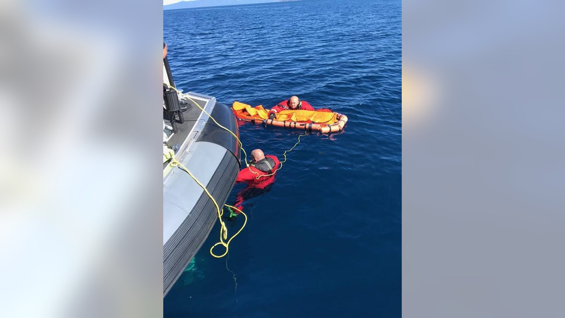 Authorities recovered the body of Chaitanya Datla, 33, over 1,000 feet in the depths of Lake Tahoe on Monday.
