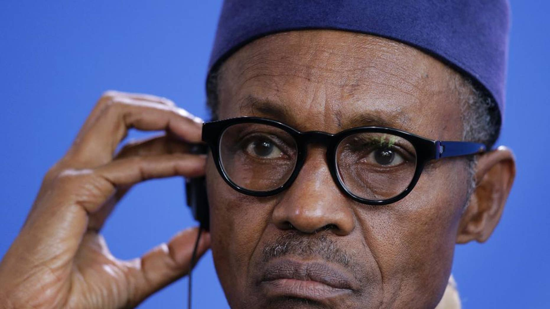 Muhammadu Buhari has called for calm after dozens were killed in central Nigeria.