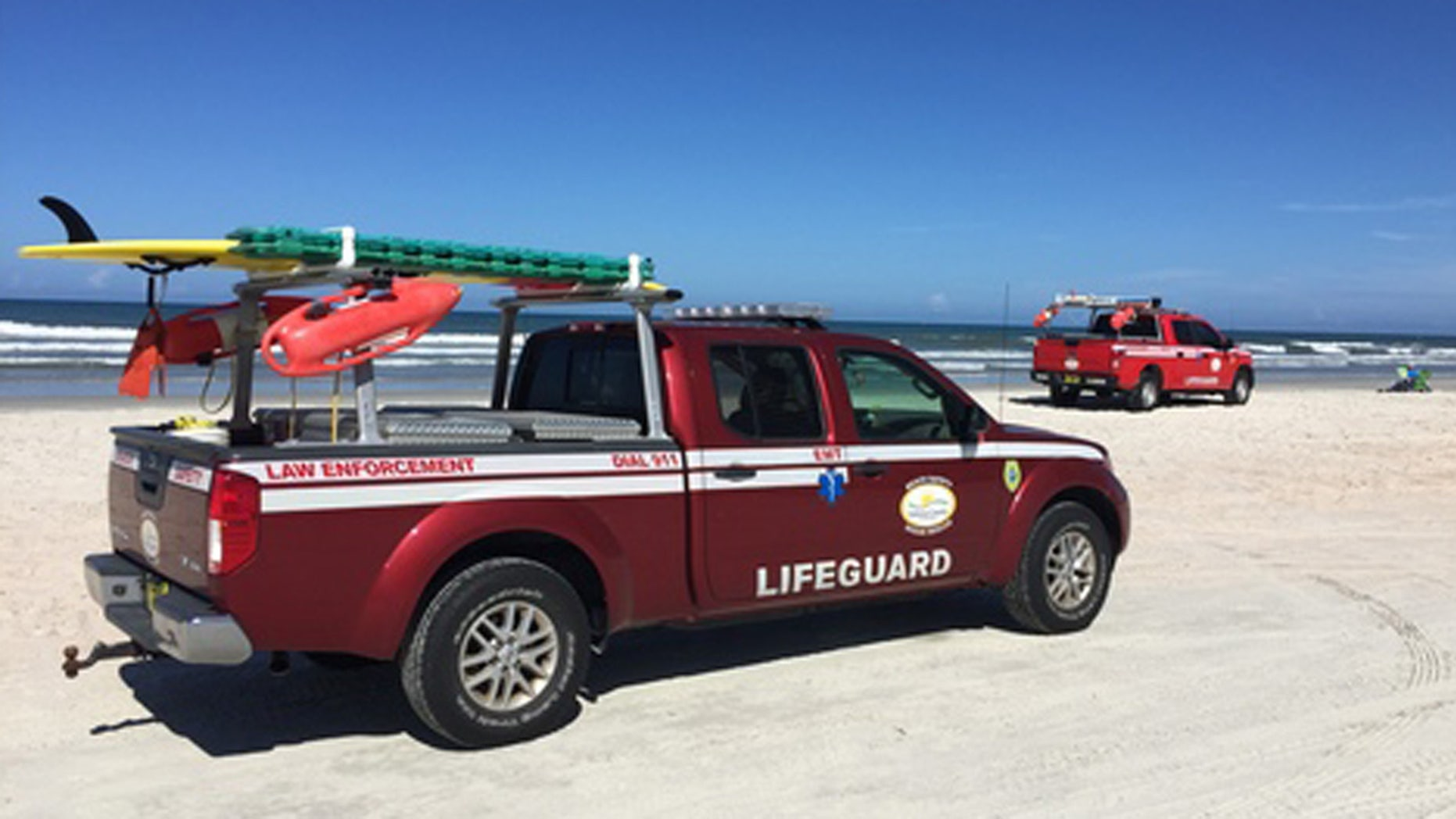 A 4-year-old boy was hit by a truck on a Florida beach after he rode a wave too close to a traffic lane.