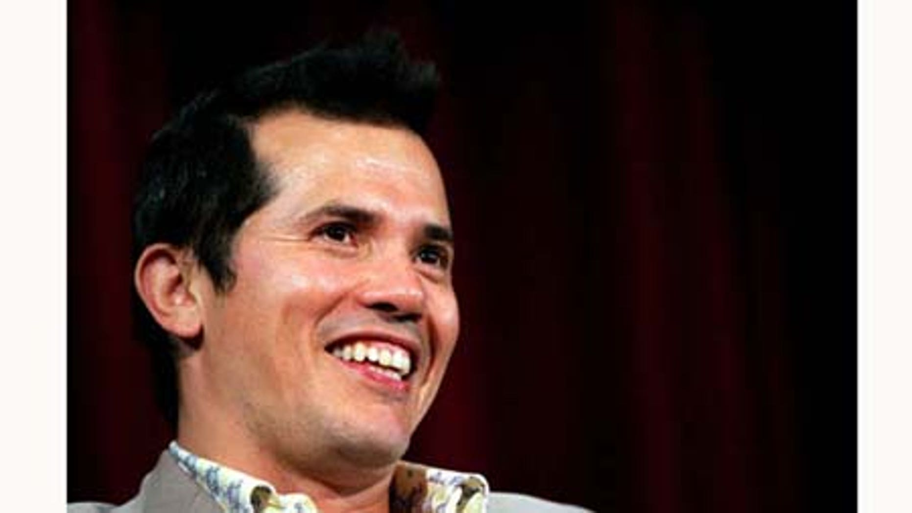 June 28, 2005: Actor John Leguizamo takes part in a panel discussion for the Variety screening of 'Cronicas' at the Directors Guild of America Theater in New York City.