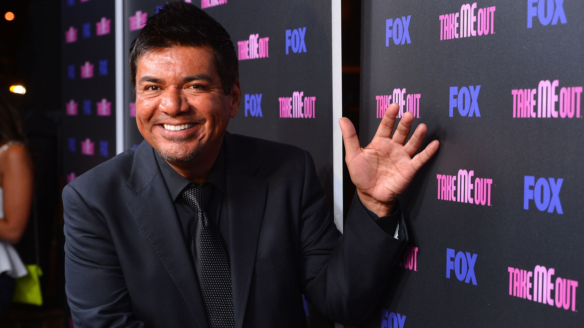 "LOS ANGELES, CA - JUNE 05:  Actor George Lopez arrives at Fox's ""Take Me Out"" Speed Dating Event at South Restaurant & Bar on June 5, 2012 in Los Angeles, California.  (Photo by Frazer Harrison/Getty Images)"