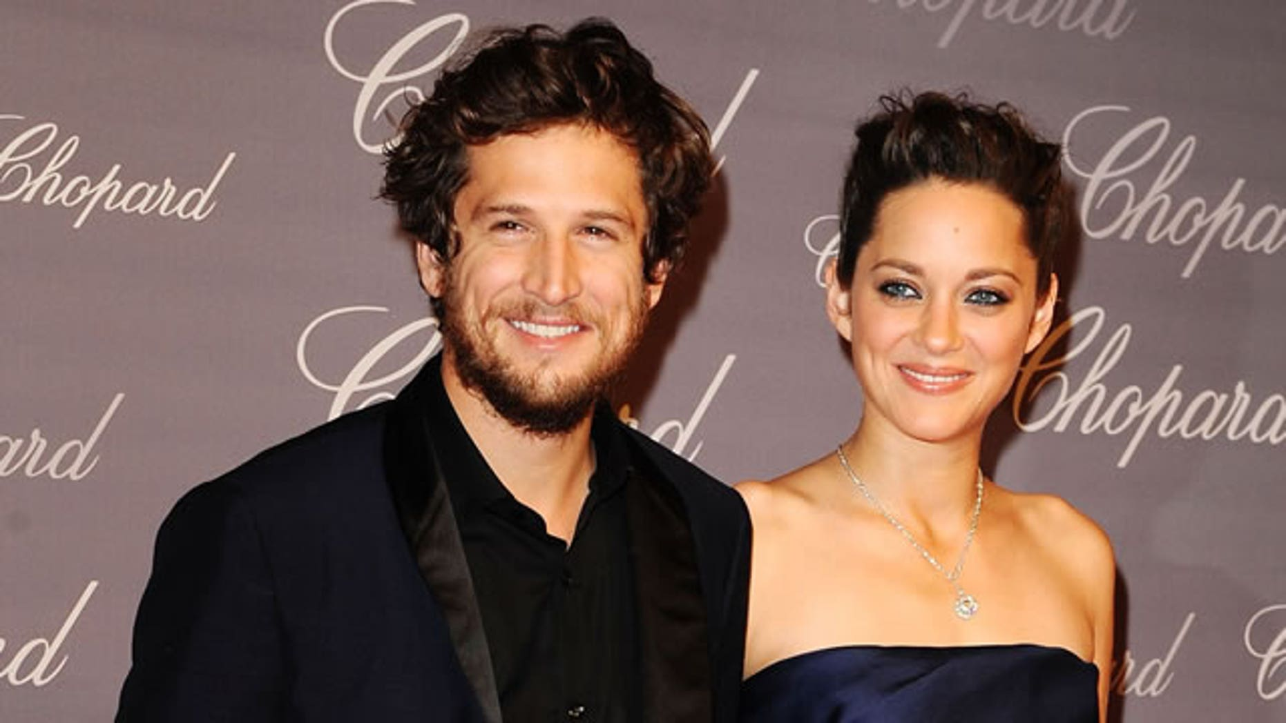 Actress Marion Cotillard and partner Guillaume Canet.