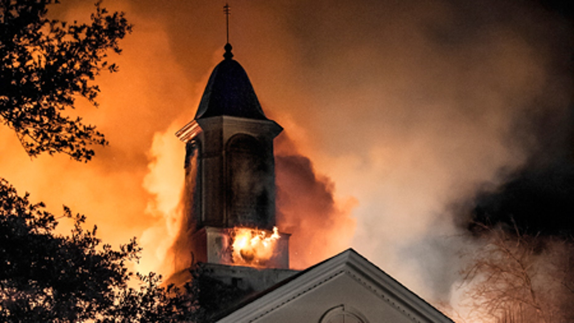 """First Church of Christ, Scientist in Tyler, Texas burns to the ground in """"Little Hope Was Arson"""" the documentary about solving an East Texas mystery in theaters and online now."""
