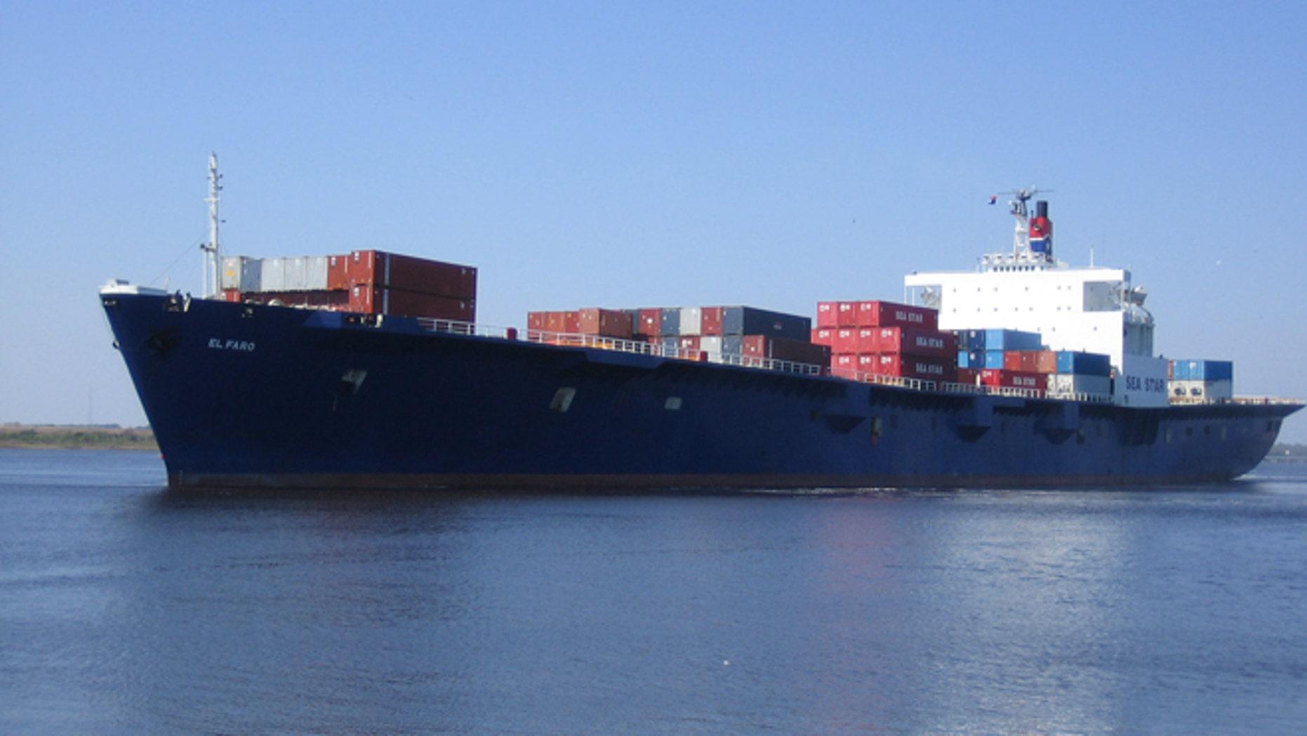 El Faro. (Courtesy TOTE Maritime)