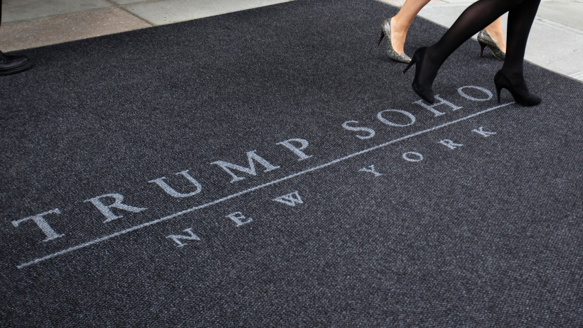 The 46-story Trump Soho opened in New York City in 2010.