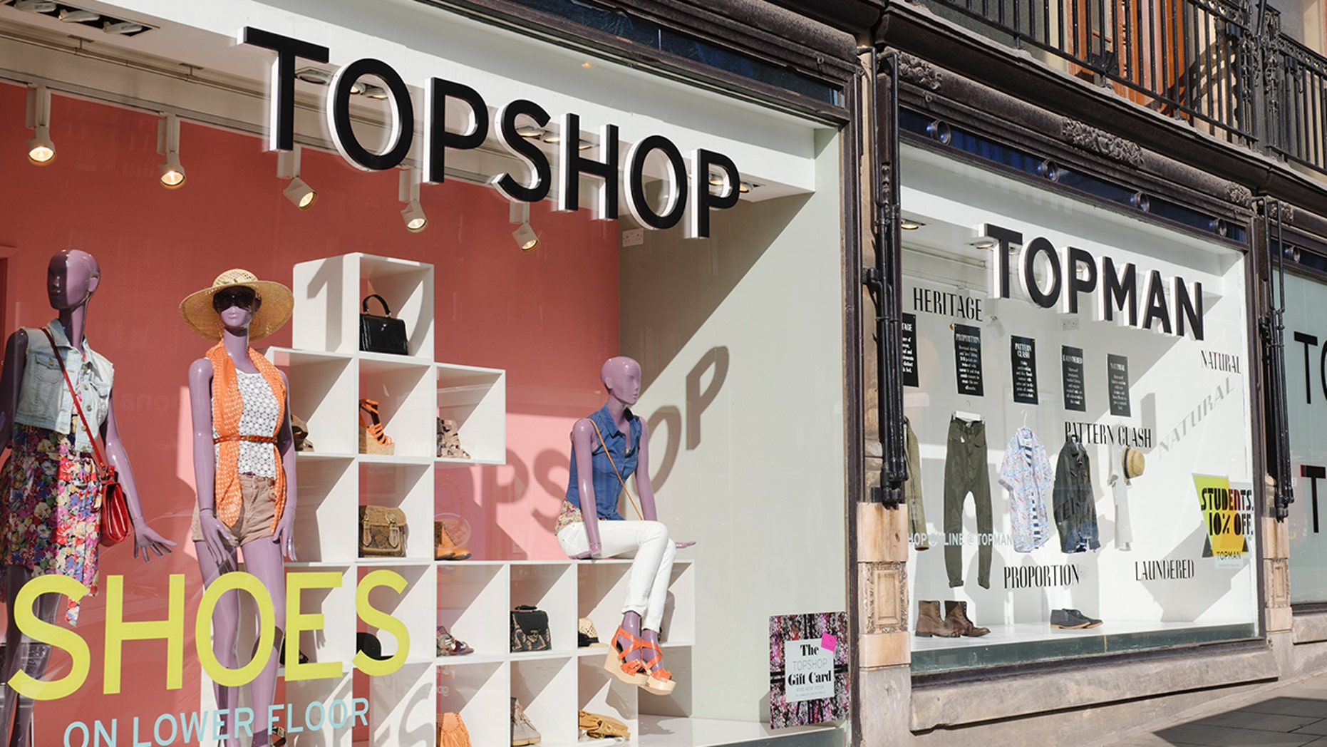 """Topshop's new """"suspender jeans"""" have sparked some strong opinions on Twitter."""
