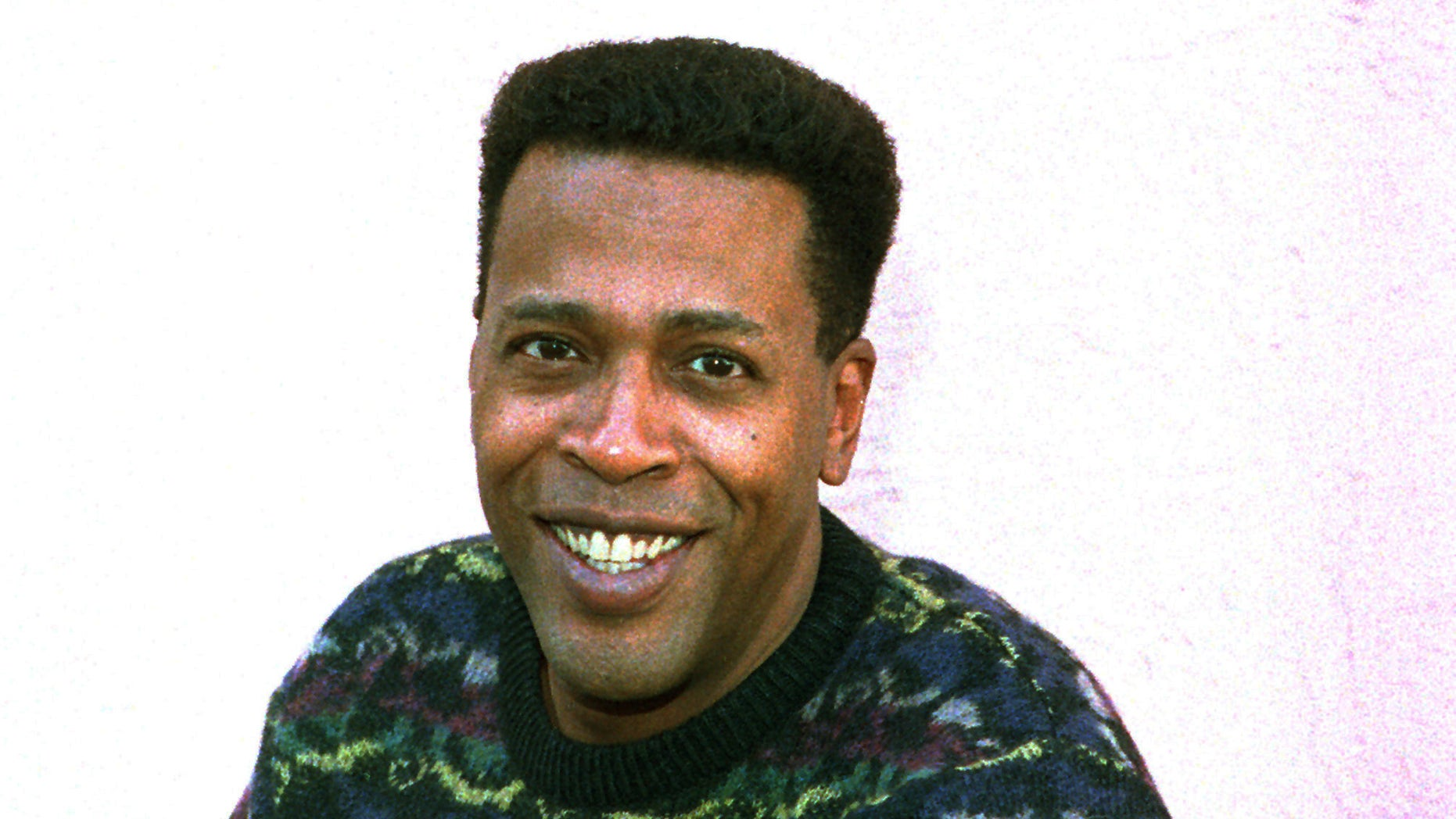"Jan. 30, 1989. Meshach Taylor poses during an interview in Los Angeles, Calif. Taylor's agent says the actor, who appeared in the hit sitcoms ""Designing Women"" and ""Dave's World"" died of cancer on Saturday, June 28, 2014, at his home in Los Angeles. He was 67."