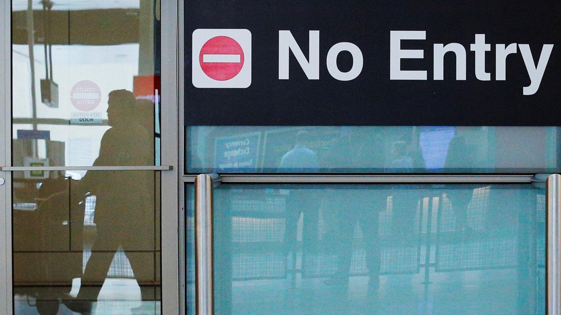 FILE: Logan Airport in Boston, Massachusetts
