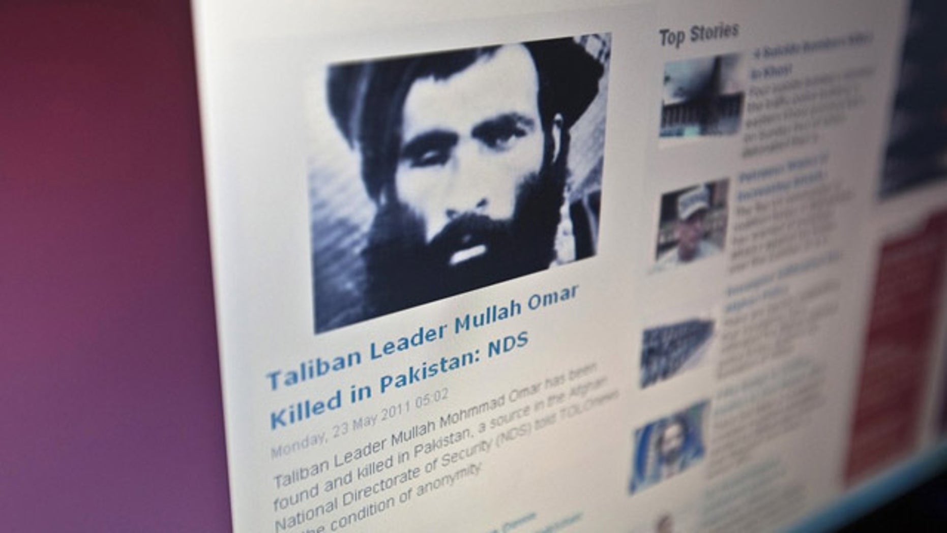 Reports of the death of Taliban leader Mullah Mohammad Omar are nothing new, but it is rare for the Afghan government to give them credence.