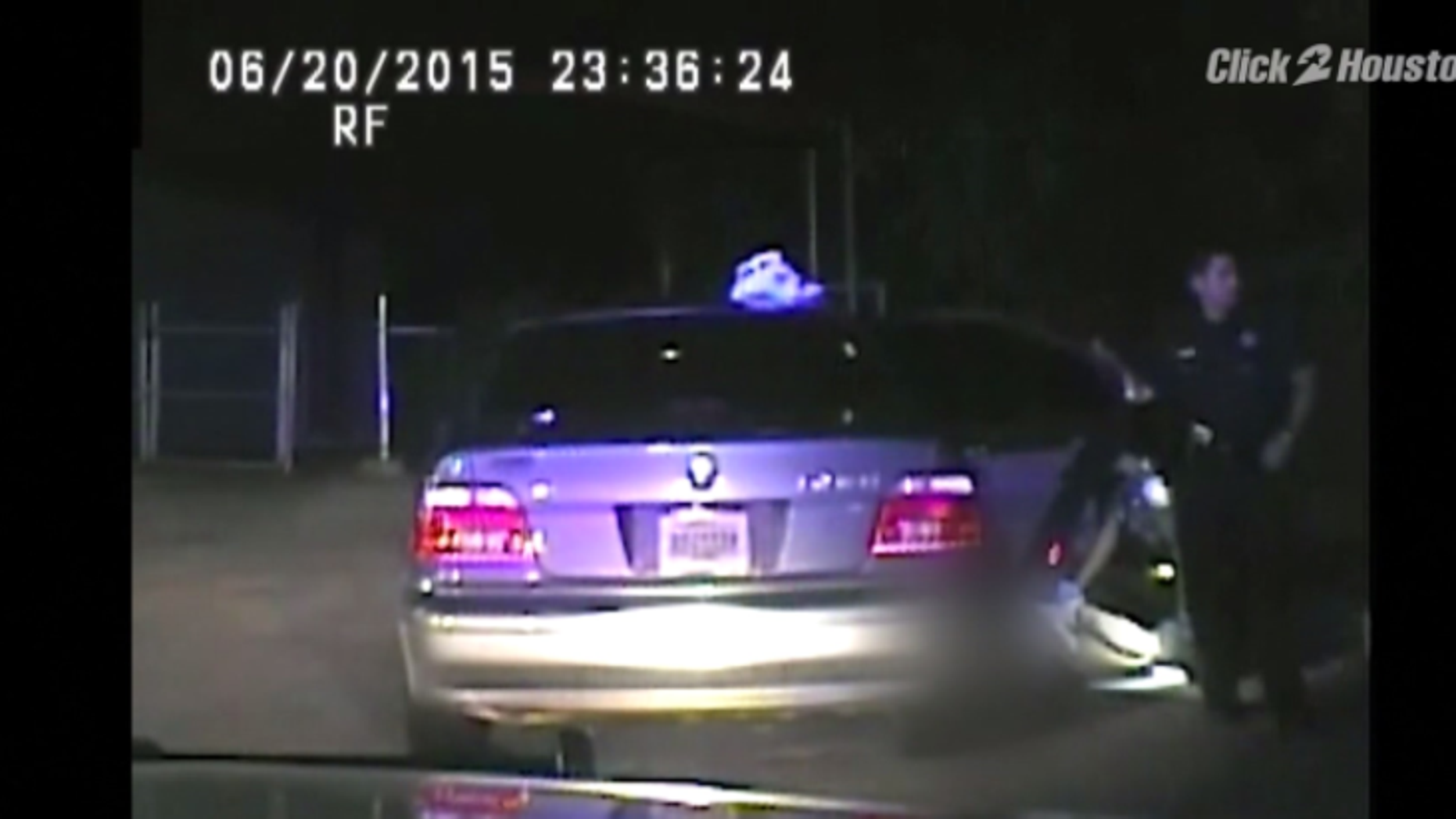 Released dashcam footage allegedly shows two Texas deputies performing a strip search on a woman.