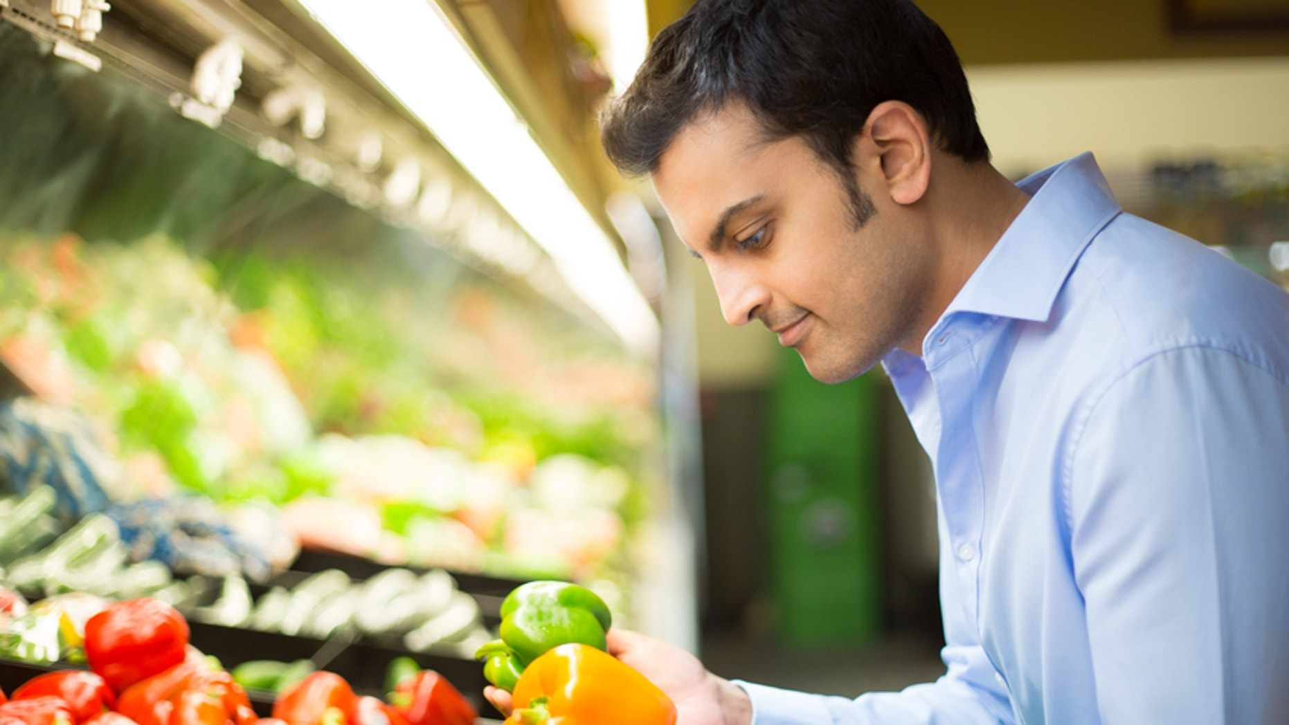 What's really going on with those vegetable washes at the supermarket?