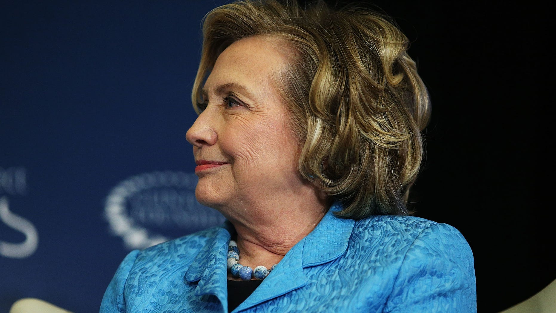 Hillary Clinton at the Lower Eastside Girls Club on April 17, 2014 in New York City.