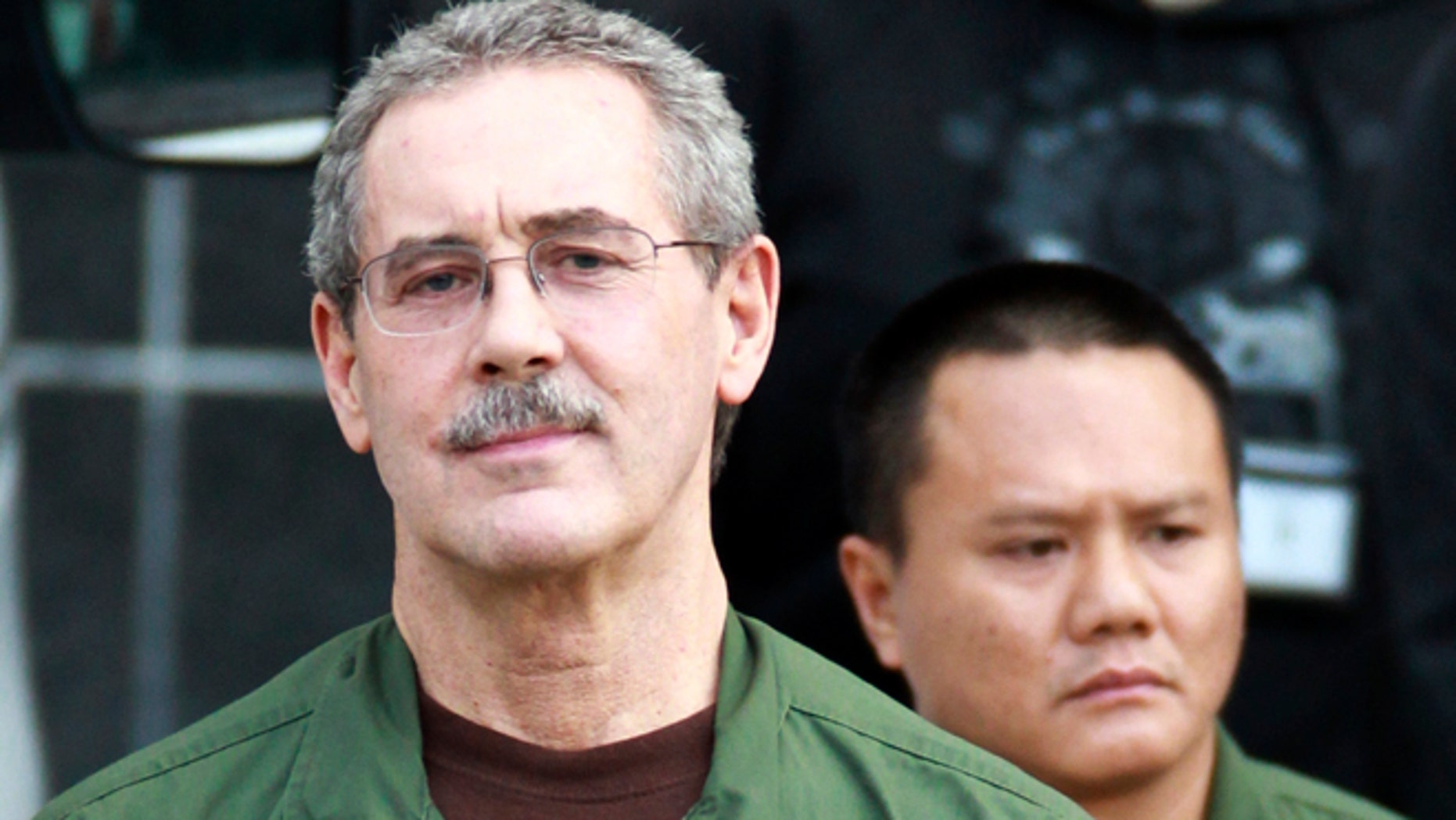 March 6, 2012: R. Allen Stanford leaves the Bob Casey Federal Courthouse in Houston.