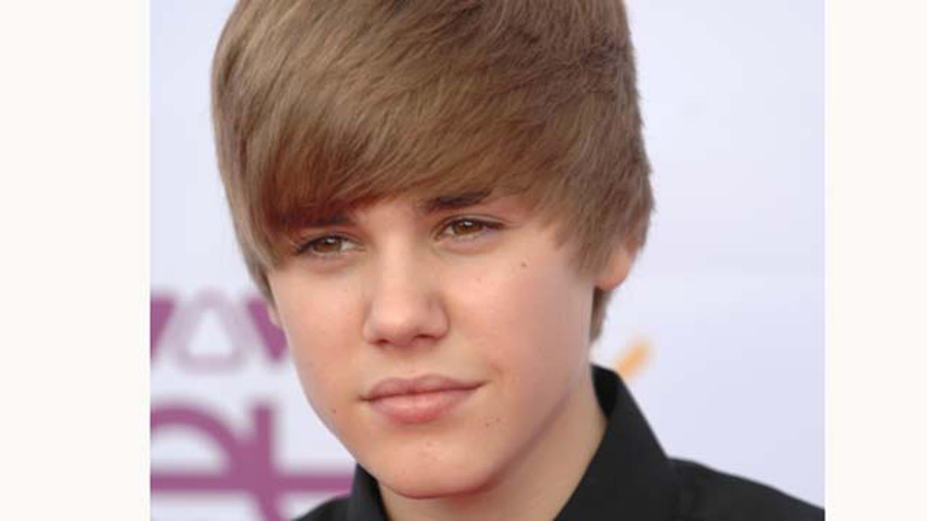 May 21, 2010: Justin Bieber attends the VIVA Comet 2010 Awards at Koenig-Pilsener-Arena in Oberhausen, Germany.