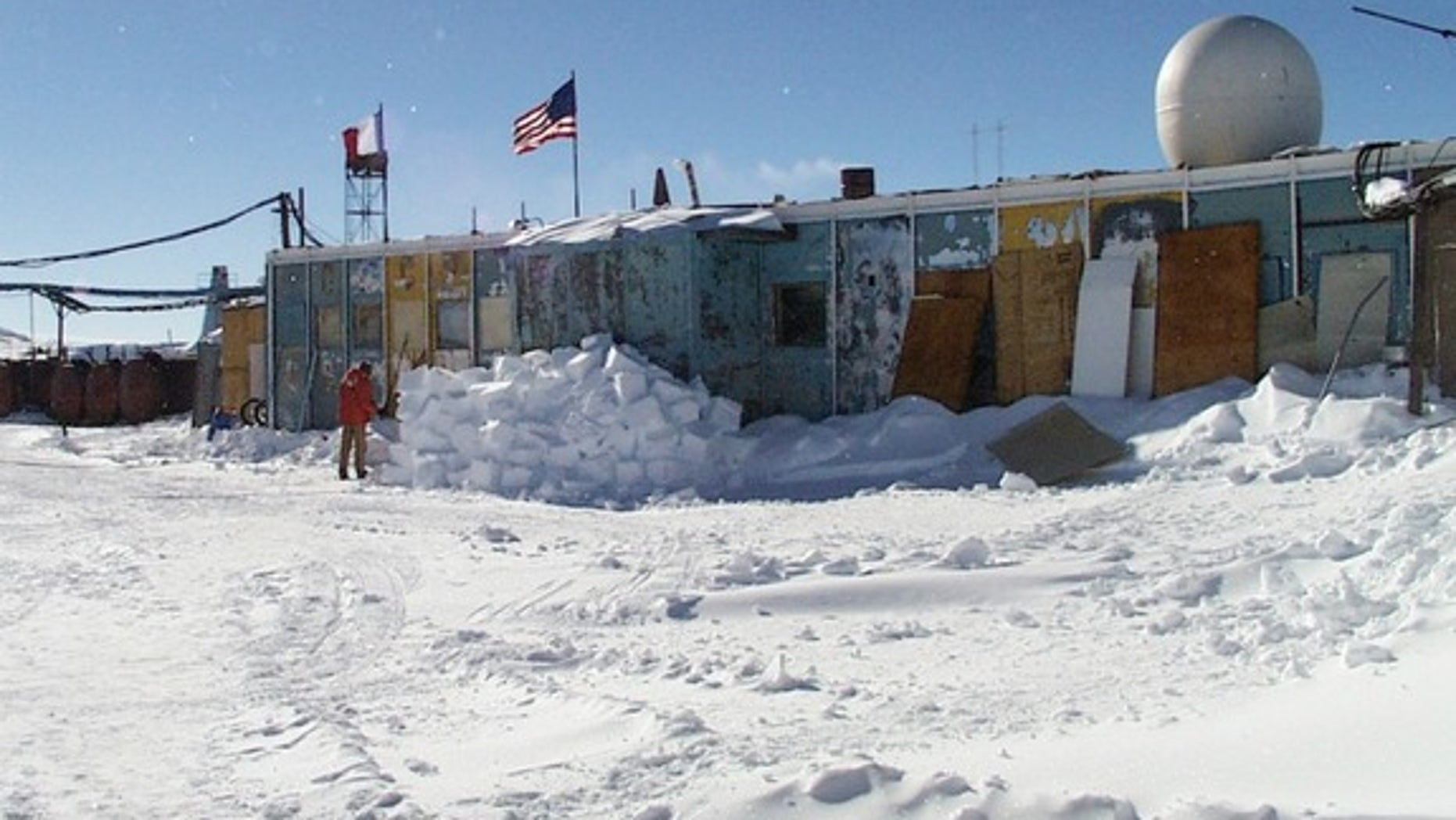 Russia's Vostok Station, in a photograph taken during the 2000 to 2001 field season.