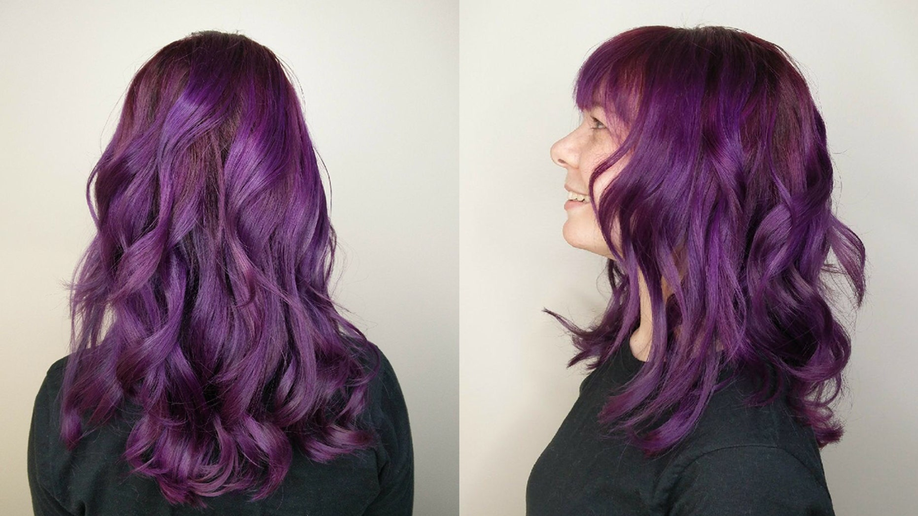 People are dyeing their hair to match Pantone\'s color of the year ...