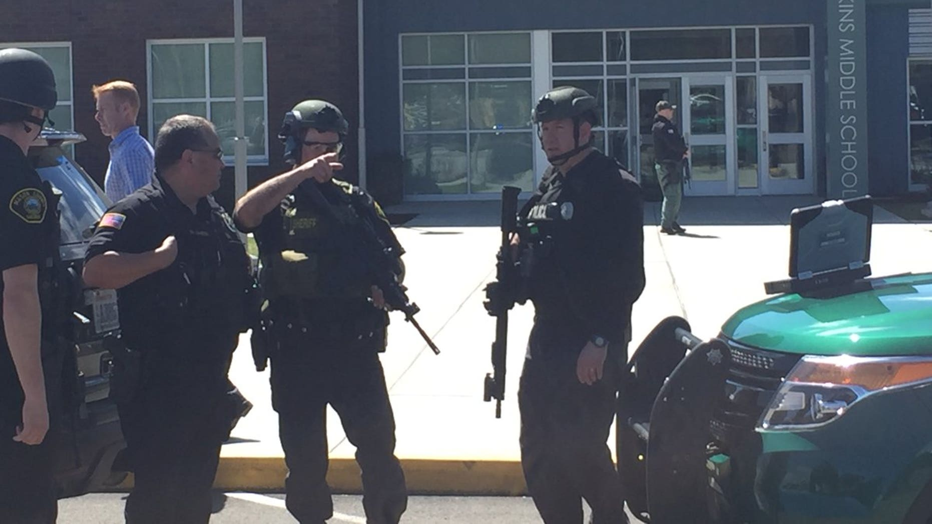 Reports of an active shooter were false, according to investigators.
