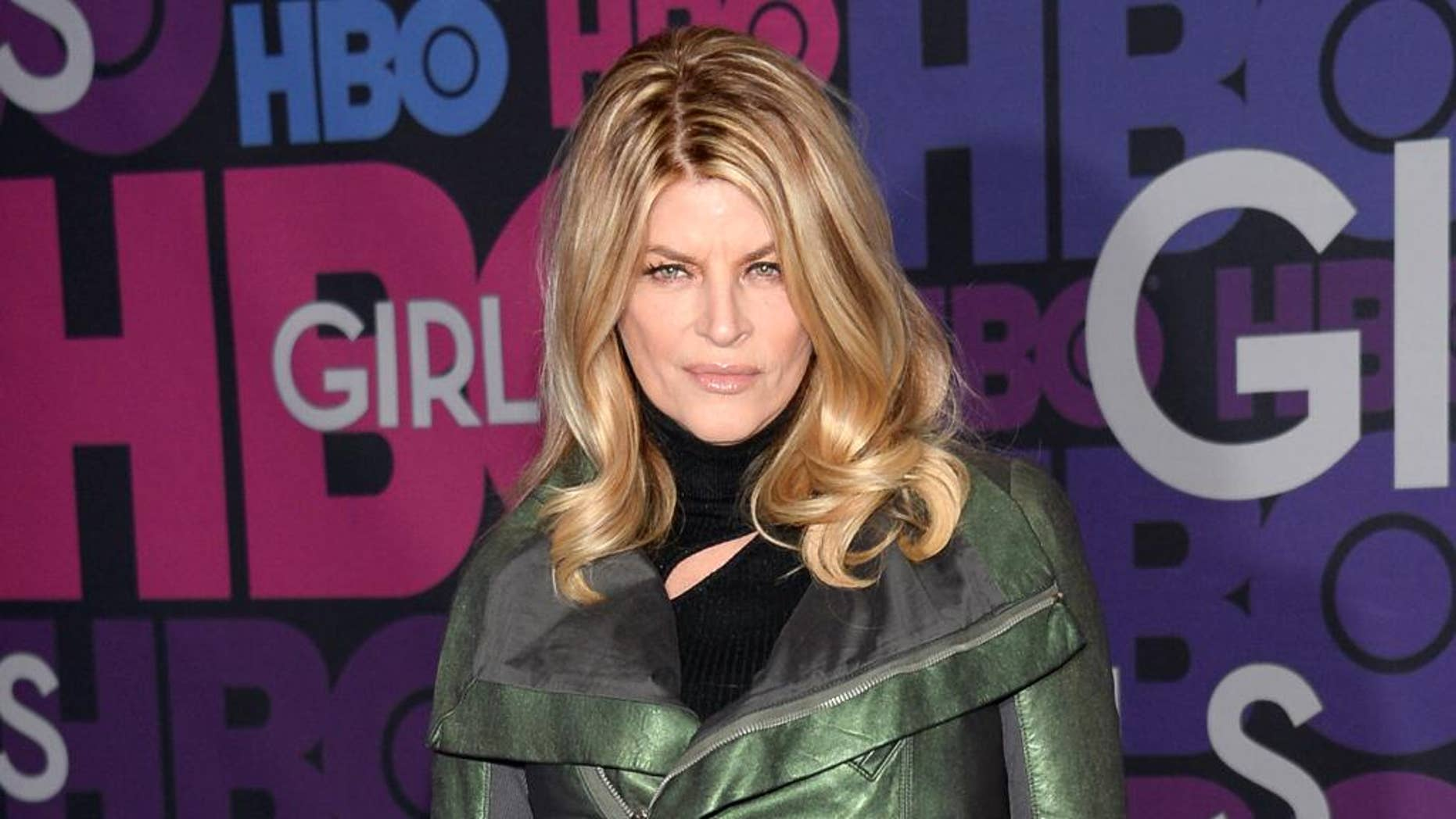 "FILE - In this Jan. 5, 2015 file photo, Kirstie Alley attends the premiere of HBO's ""Girls"" fourth season in New York. Alley is joining the cast in the second season of ""Scream Queens,"" premiering Sept. 20, on Fox. (Photo by Evan Agostini/Invision/AP, File)"